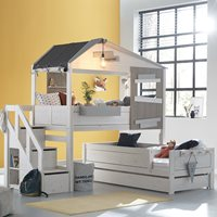 Lifetime The Hideout Corner Bunk Bed with Steps